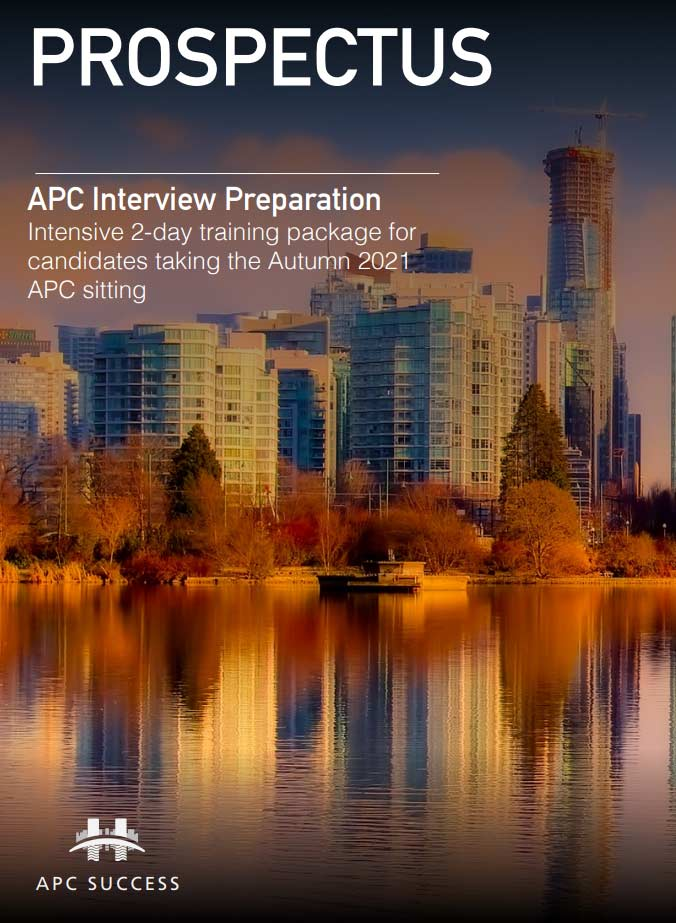 Apc Success Interview Prep Course Prospectus