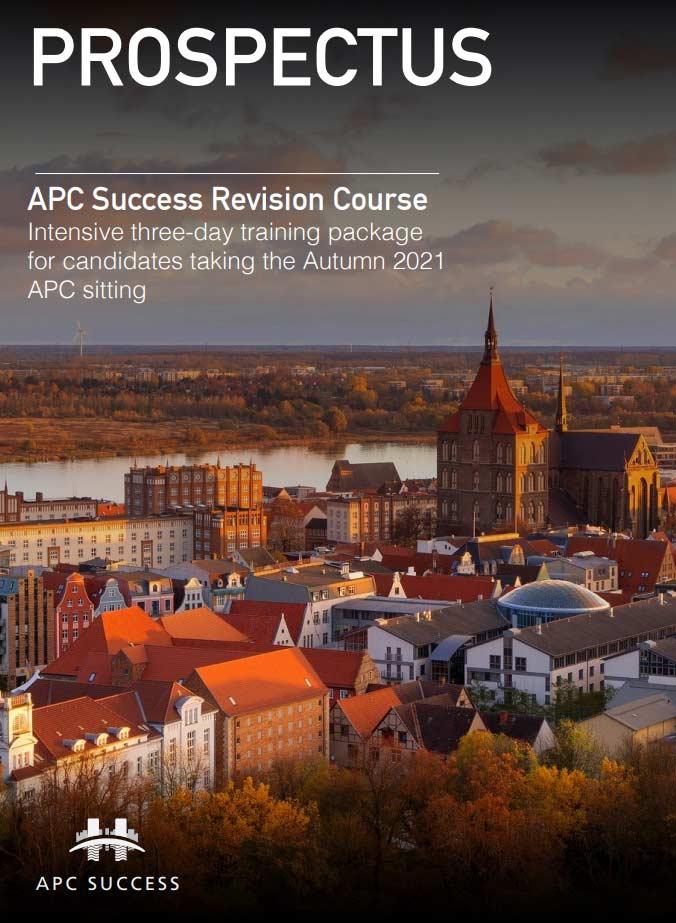 Apc Success Revision Course Prospectus